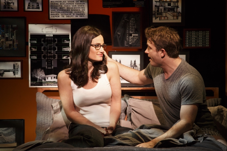 If Then, Broadway, Idina Menzel, James Snyder