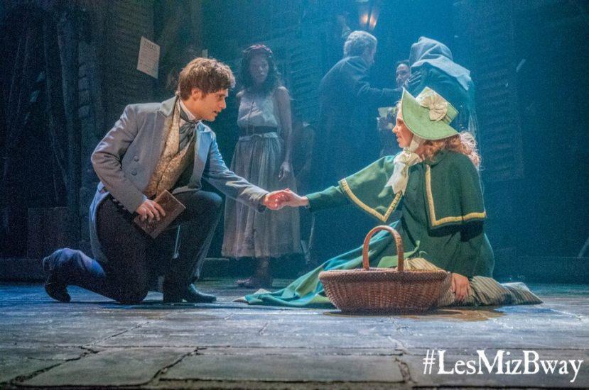 Les Miz 2014 Broadway, Andy Mientus, Samantha Hill
