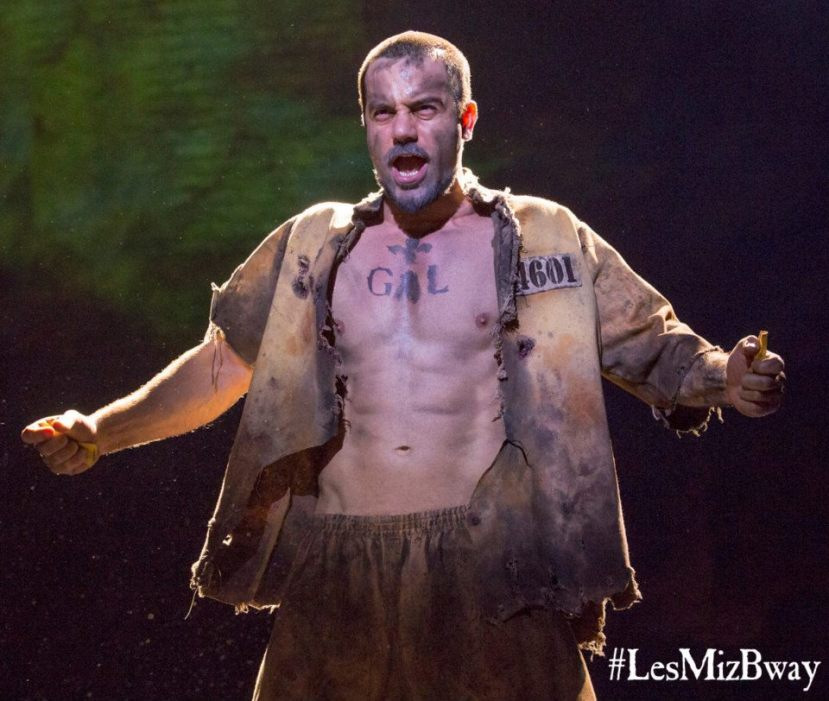 Les Miz 2014 Broadway, Ramin Karimloo as Jean Valjean