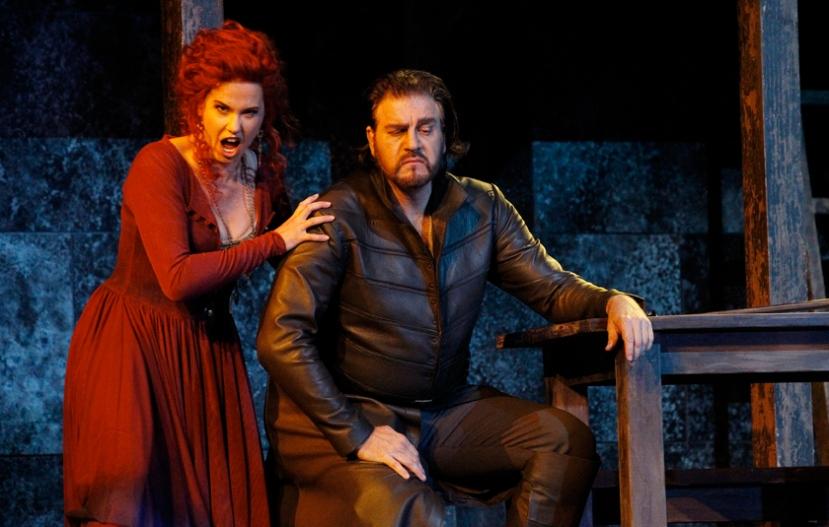 Rigoletto Opera Australia 2014 Sian Pendry, Daniel Sumegi