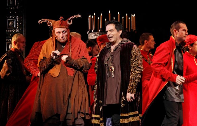 Rigoletto Opera Australia 2014 Warwick Fyfe, Gianluca Terranova