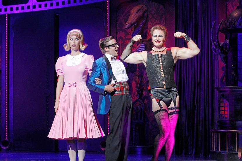 Rocky Horror Show 2014 Christie Whelan-Browne, Tim Maddren, Craig McLachlan
