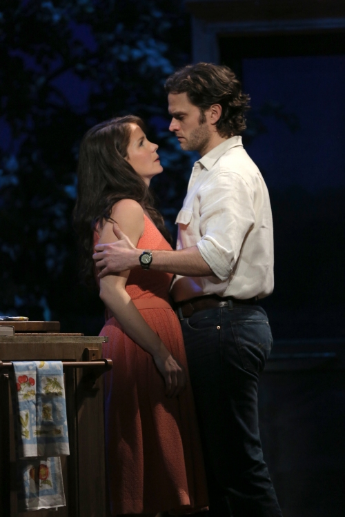 The Bridges of Madison County, Broadway, Kelli O'Hara and Steven Pasquale