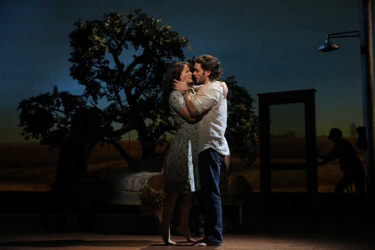 The Bridges of Madison County, Broadway, Kelli O'Hara, Steven Pasquale