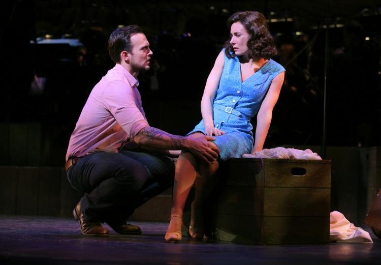 The Most Happy Fella, City Center Encores, Cheyenne Jackson, Laura Benanti