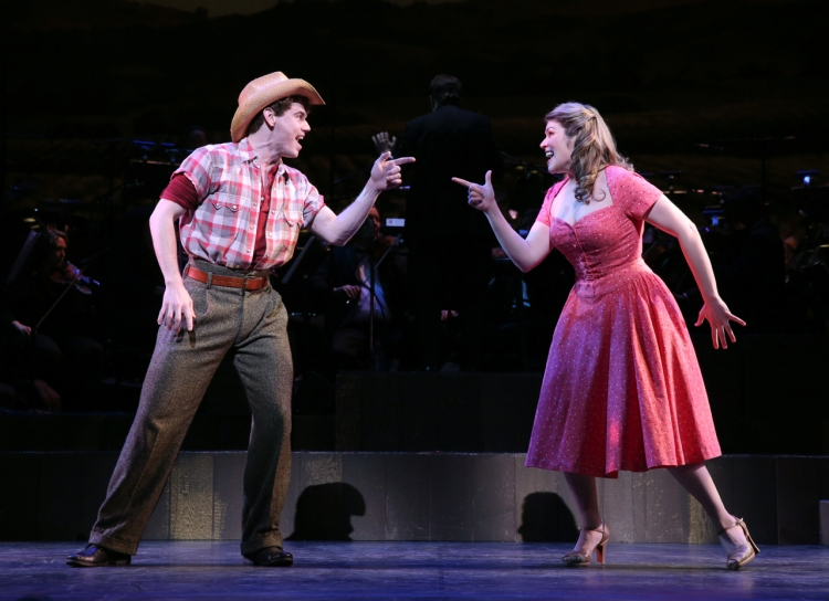 The Most Happy Fella, City Center Encores, Jay Armstrong Johnson, Heidi Blickenstaff
