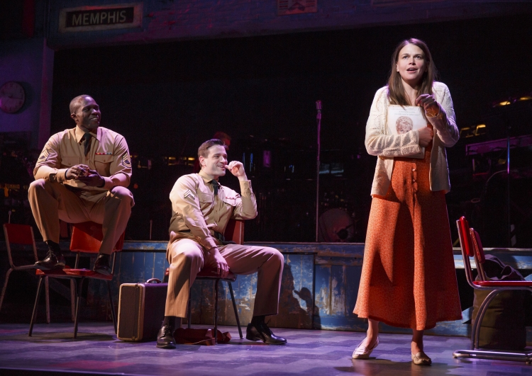 Violet Broadway Joshua Henry, Colin Donnell, Sutton Foster