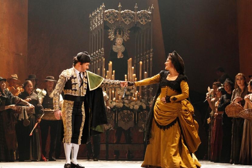 Carmen 2014 Opera Australia, Michael Honeyman, Nancy Fabiola Herrera
