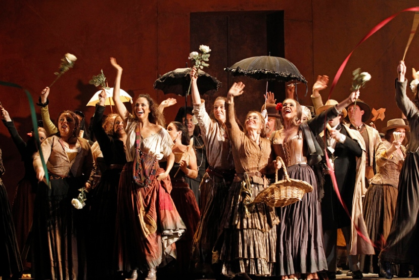 Carmen 2014 Opera Australia, OA Chorus