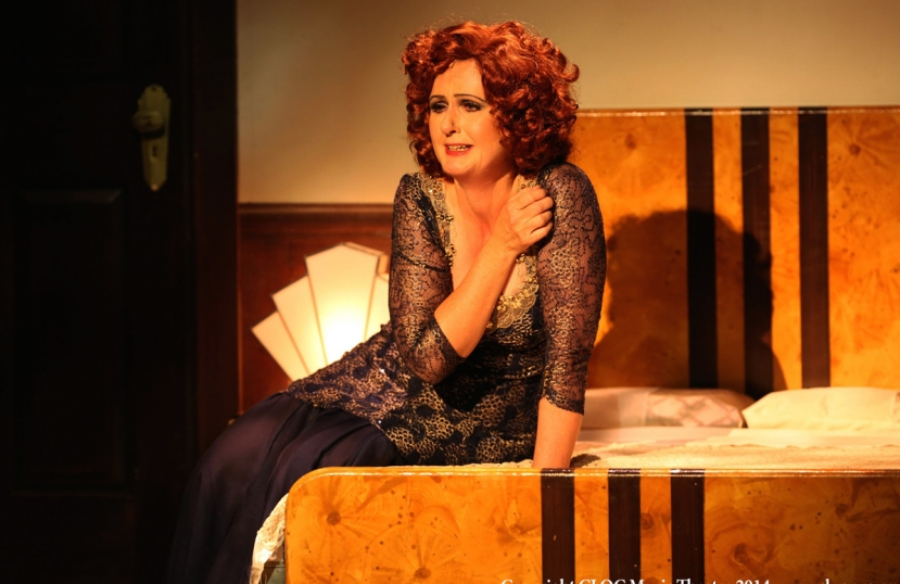 CLOC 42nd St 2014 Pam Christie Birkett as Dorothy Brock