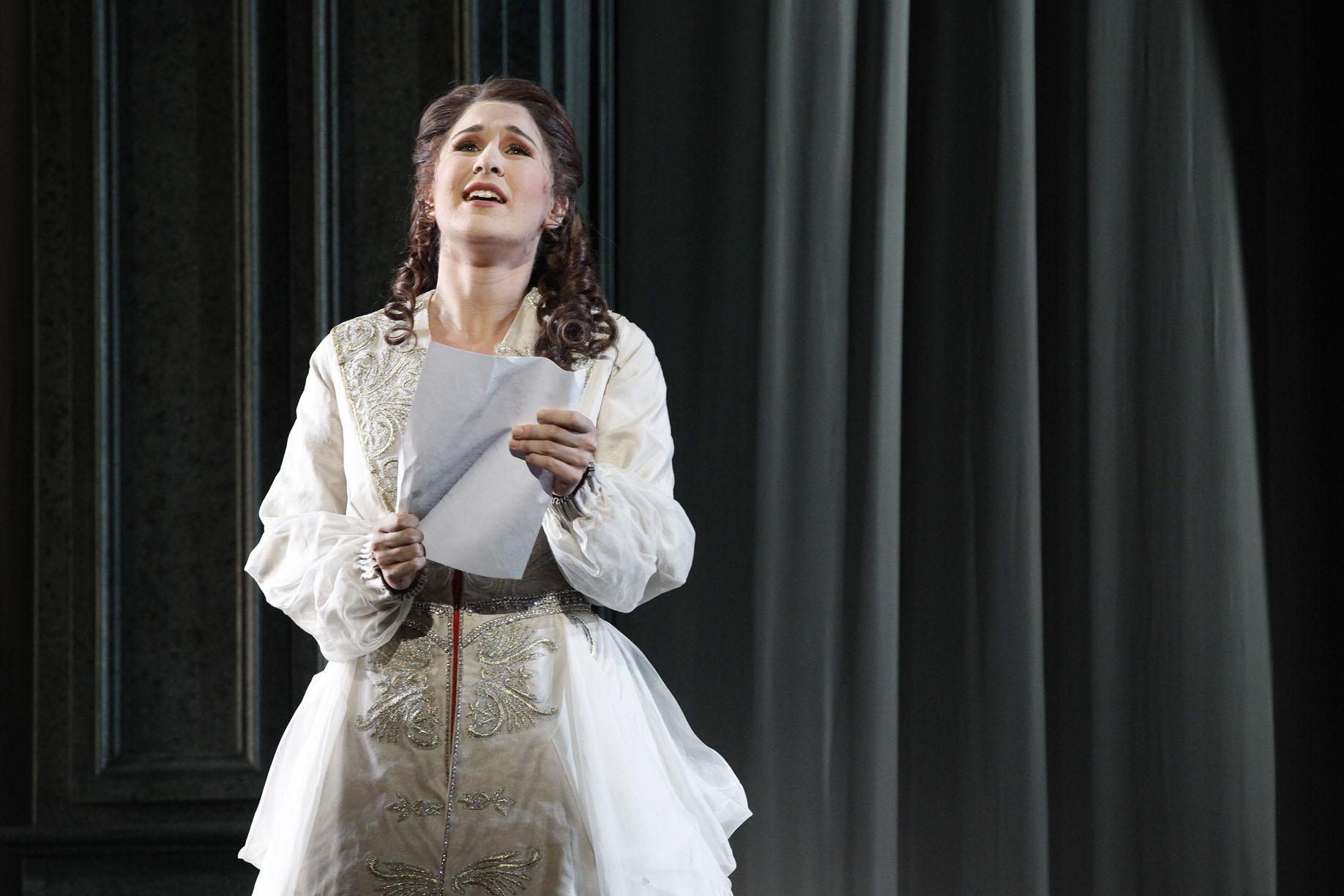 Eugene Onegin 2014 Opera Australia, Nicole Car as Tatyana, letter aria