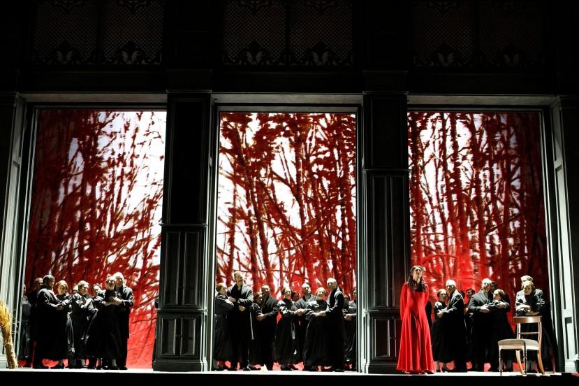 Eugene Onegin 2014 Opera Australia, Nicole Car, OA Chorus