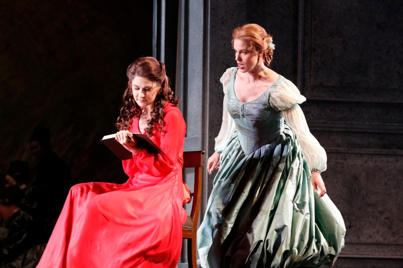 Eugene Onegin 2014 Opera Australia, Nicole Car, Sian Pendry
