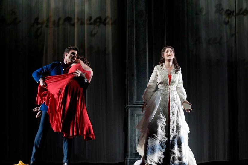 Eugene Onegin 2014 Opera Australia, Nicole Car