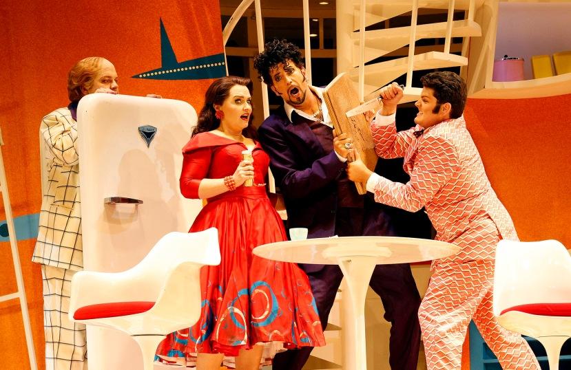 The Turk in Italy 2014 Opera Australia, Andrew Moran, Emma Matthews, Shane Lowrencev, John Longmuir