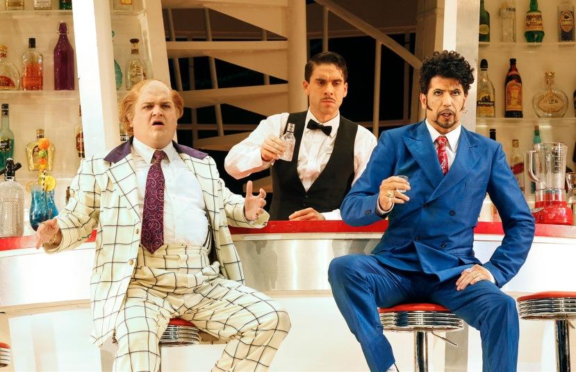 The Turk in Italy 2014 Opera Australia, Andrew Moran, Samuel Dundas, Shane Lowrencev