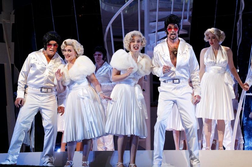 The Turk in Italy 2014 Opera Australia, John Longmuir, Emma Matthews, Anna Dowsley, Shane Lowrencev