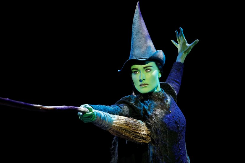 Wicked Australia 2014 Jemma Rix as Elphaba