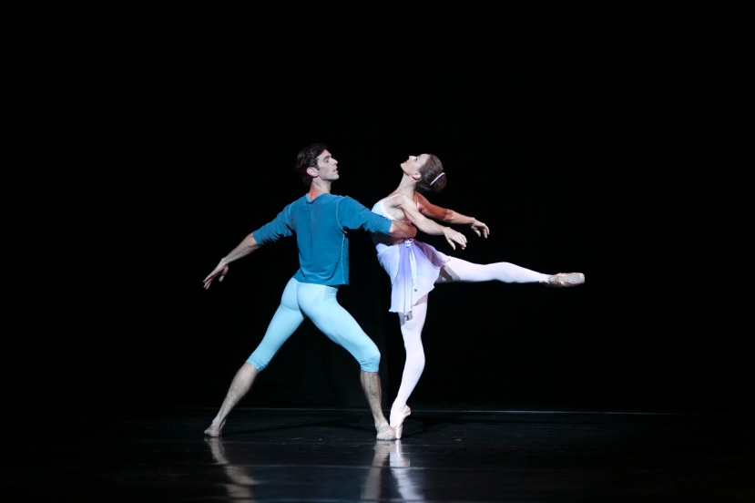 Chroma 2014 The Australian Ballet, Andrew Killian, Madeleine Eastoe, Art to Sky