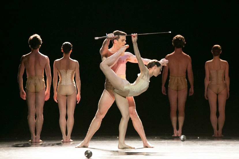 Chroma 2014 The Australian Ballet, Andrew Wright, Dimity Azoury, Petite Mort