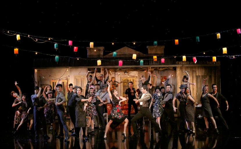 Strictly-Ballroom-musical,-Sydney,-Phoebe-Panaretos,-Thomas-Lacey,-company