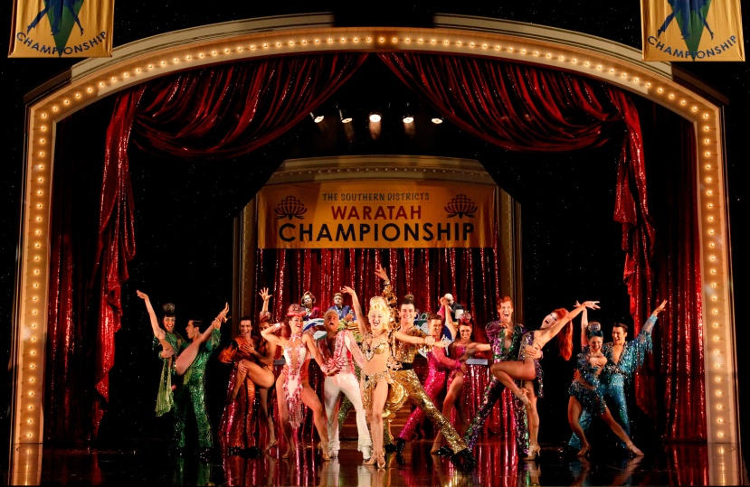 Strictly-Ballroom-musical,-Sydney,-Warath-Championships