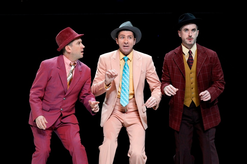 Guys and Dolls 2014 The Production Company, Christopher Horsey, Adam Murphy, Bobby Fox
