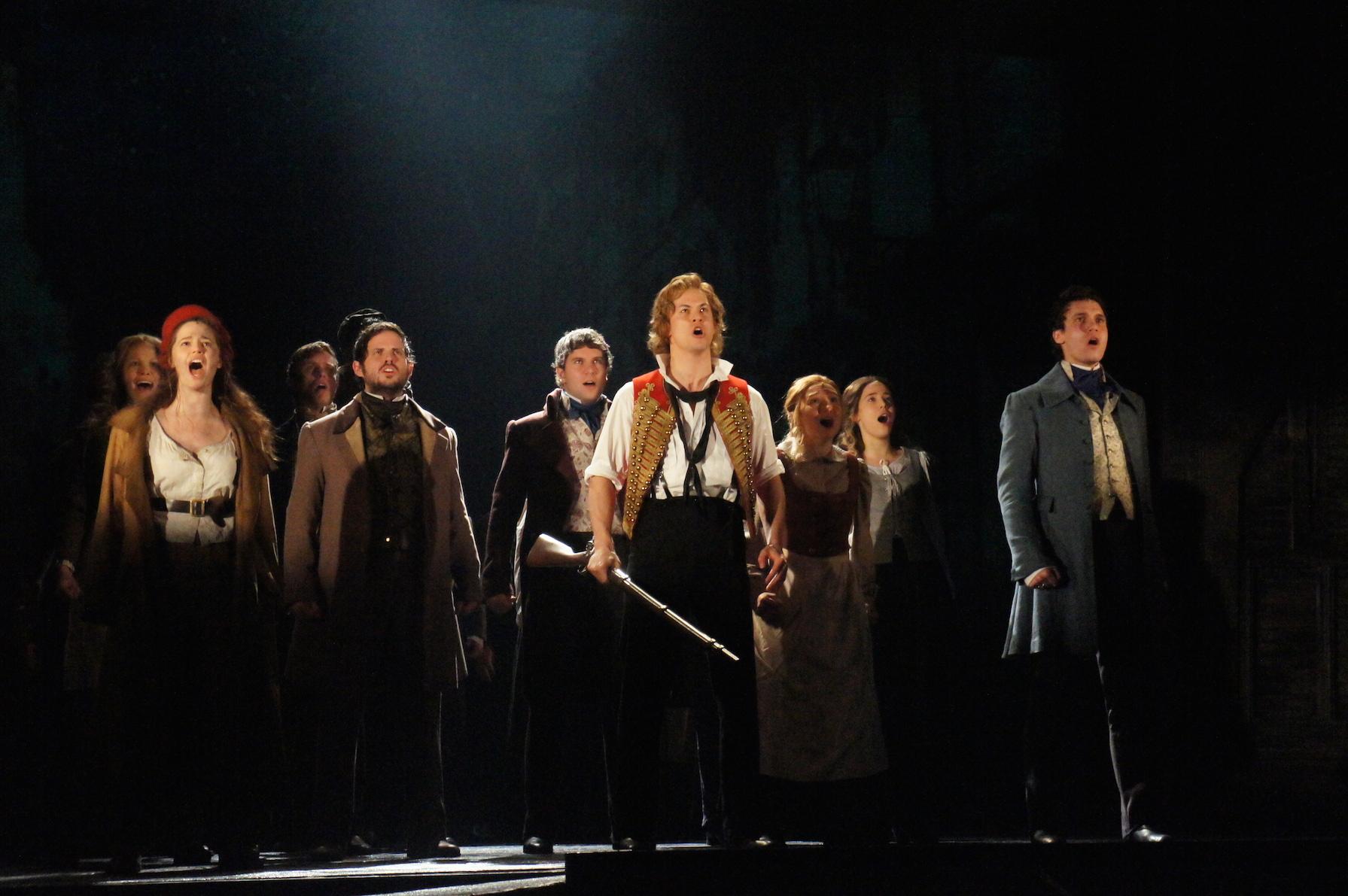 Les Misérables Melbourne 2014 sneak peek – Simon Parris: Man