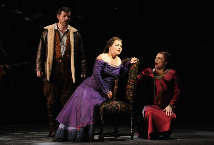 Opera Australia_Otello_2014_James Egglestone, Lianna Haroutounian, Jacqueline Dark