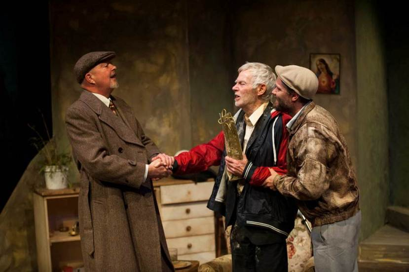The Seafarer, Hoy Polloy Theatre, Michael Cahill, Geoff Hickey, David Passmore