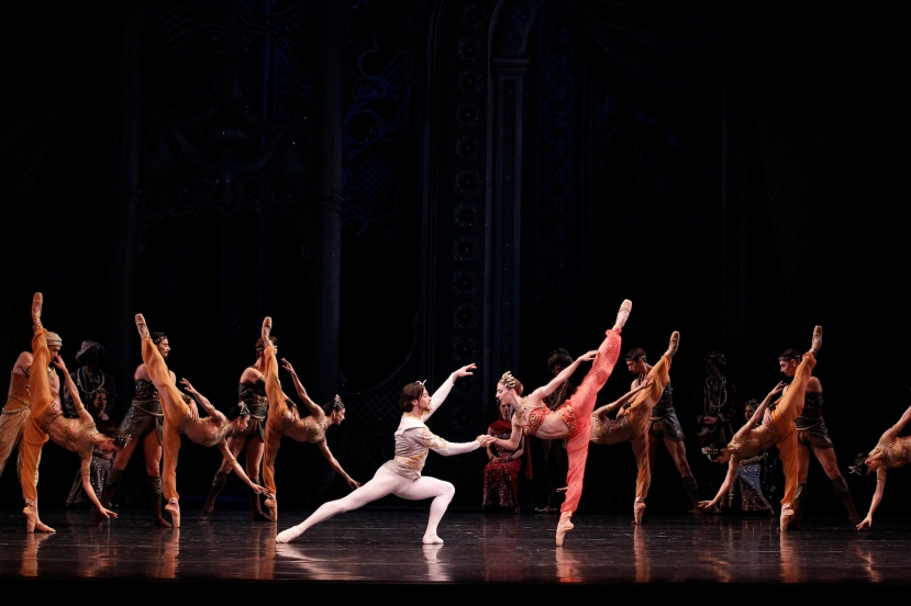 Daniel Gaudiello, Lana Jones,  La Bayadere, The Australian Ballet
