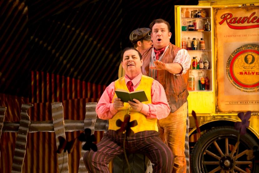 The Elixir of Love 2014 Opera Australia, Conal Coad, Aldo Di Toro