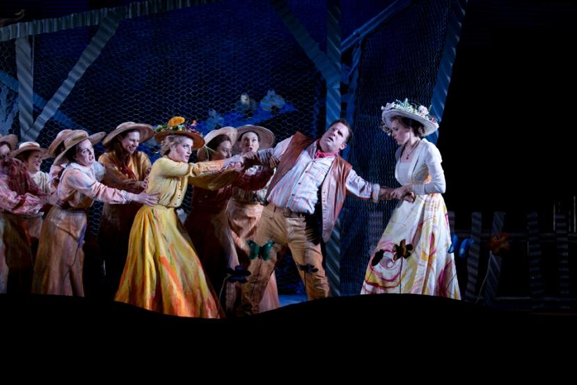 The Elixir of Love 2014 Opera Australia, Rachelle Durkin, Aldo Di Toro