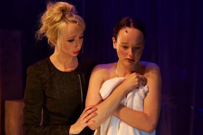 Carrie the musical 2014 Melbourne, Kathleen Amarant, Emily Milledge