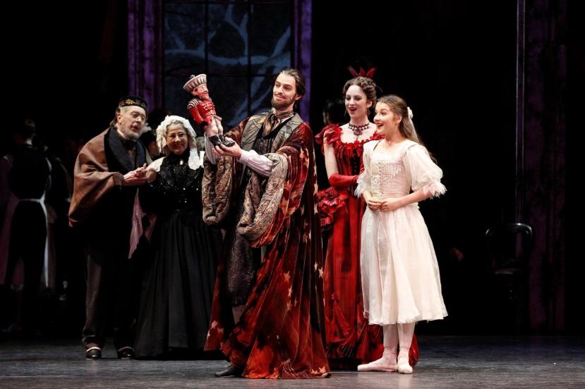 The Nutcracker 2014 The Australian Ballet, Andrew Killian, Ingrid Gow and Benedicte Bemet