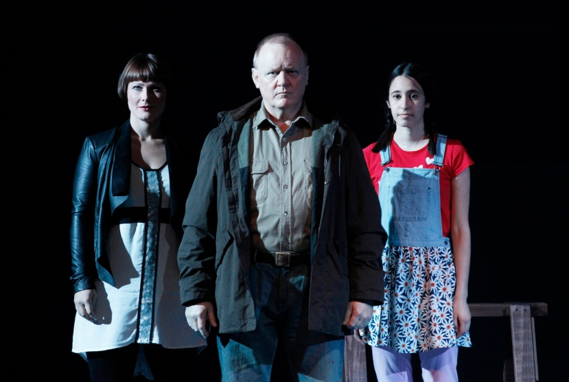 The Riders, Victorian Opera, Malthouse Theatre 2014  Jessica Aszodi, Barry Ryan, Isabela Calderon