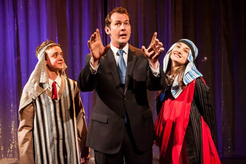 Miracle City, Hayes Theatre, Cameron Holems, Mike McLeish, Hilary Cole