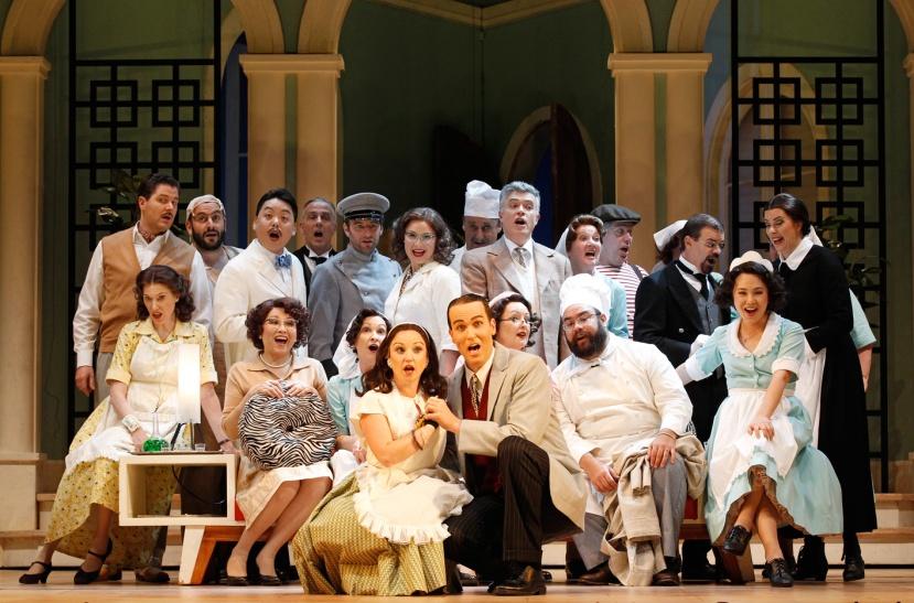 Don Pasquale 2014 Opera Australia Chorus