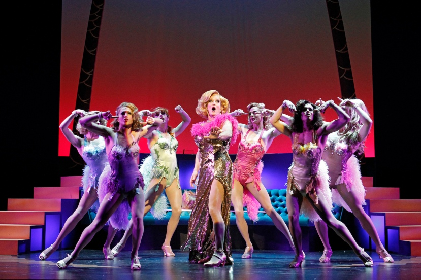 La Cage aux Folles 2014 The Production Company, Todd McKenney and Les Cagelles