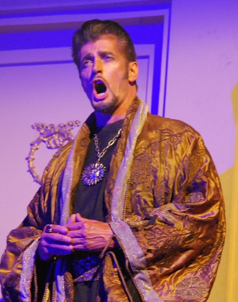 The Magic Flute, Gerturde Opera, David Gould as Sarastro
