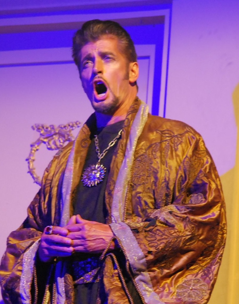 The Magic Flute, Gerturde Opera, David Gould as Sarastro