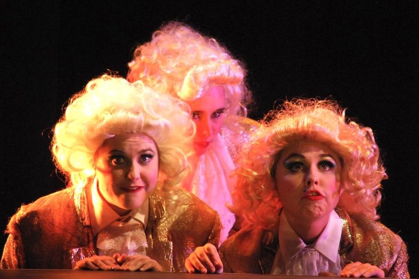 The Magic Flute, Gerturde Opera, Three Spirits