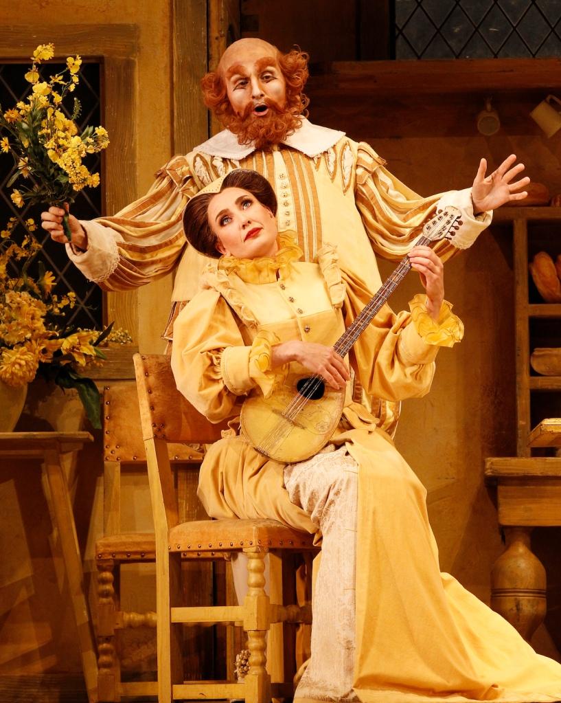 Falstaff 2014 Opera Australia, Jane Ede, Warwick Fyfe