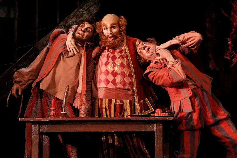 Falstaff 2014 Opera Australia, Jud Arthur, Warwick Fyfe, Kanen Breen