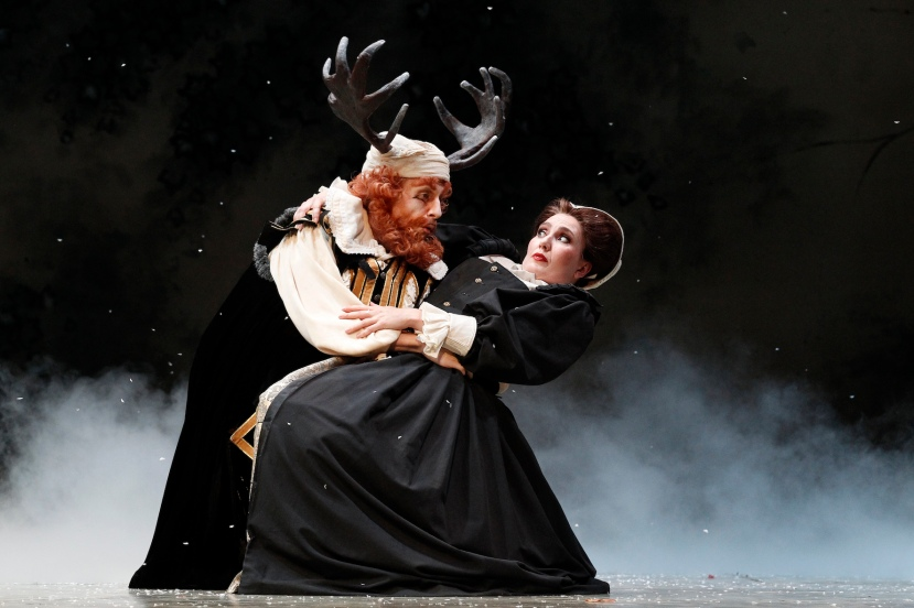 Falstaff 2014 Opera Australia, Warwick Fyfe, Jane Ede