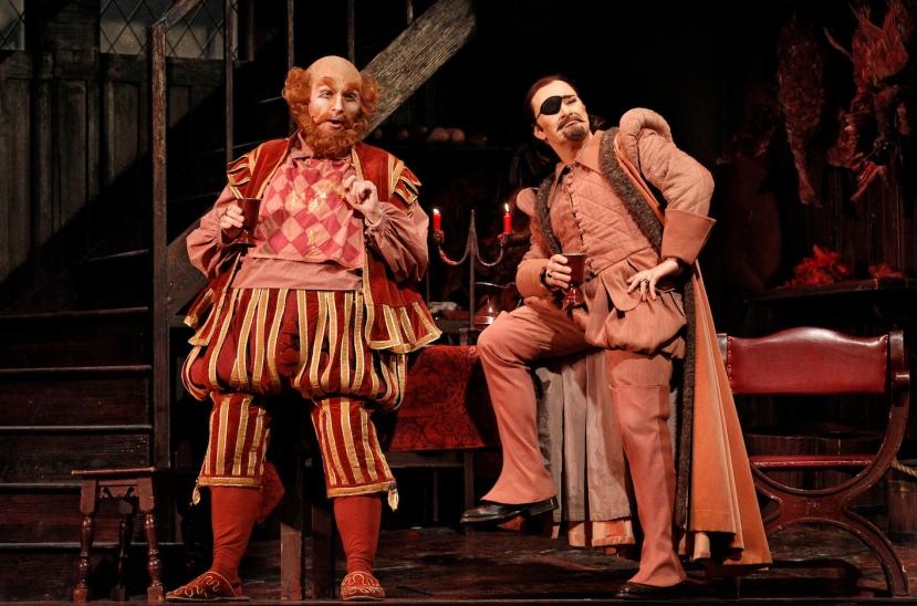 Falstaff 2014 Opera Australia, Warwick Fyfe, Michael Honeyman