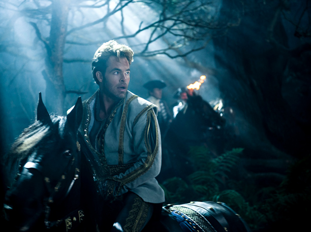 Into the Woods movie Chris PIne