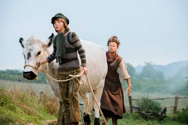 Into the Woods movie Daniel Huttlestone, Tracey Ullman