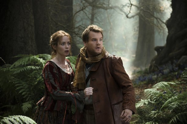 Into the Woods movie James-Corden-Baker-Emily-Blunt-Bakers-Wife