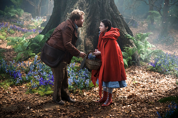 Into the Woods movie James Corden, Lilla Crawford